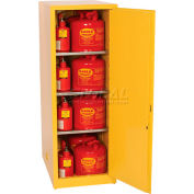 Eagle Flammable Liquid Safety Cabinet with Manual Close - 48 Gallon