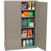 Eagle Office Supply Cabinet with Manual Close - Gray