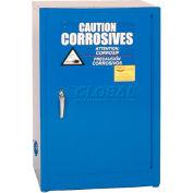 Eagle Acid & Corrosive Cabinet with Manual Close - 12 Gallon