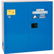 Eagle Acid & Corrosive Cabinet with Sliding Self Close - 30 Gallon