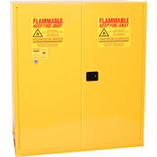 Eagle Hazmat Cabinet with Self Close - 110 Gallon