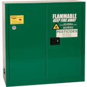 Eagle Pesticide Safety Cabinet with Self Close - 30 Gallon