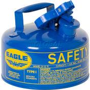 Eagle Type I Safety Can - 1 Gallon - Blue, UI-10-SB