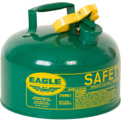 Eagle Type I Safety Can - 2 Gallons - Green, UI-20-SG