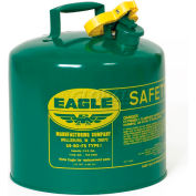 Eagle Type I Safety Can - 5 Gallons - Green, UI-50-SG