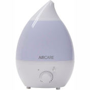 AIRCARE Aurora Ultrasonic Humidifier AUV20AWHT - Aroma Diffuser, Multi-Color LED, 1 Gal. 750 Sq.Ft.