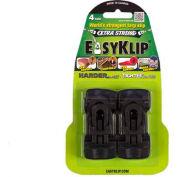 EasyKlip® MIDI Tarp Clip Black 4101, 6 Packs of 4