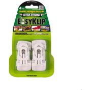 EasyKlip® MIDI Tarp Clip White 4102, 6 Packs of 4
