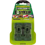EasyKlip® MIDI Tarp Clip Green 4103, 6 Packs of 4