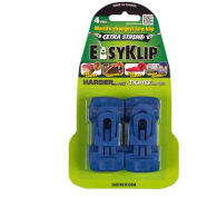 EasyKlip® MIDI Tarp Clip Blue 4104, 6 Packs of 4