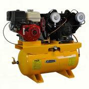 EMAX EGES1330V4, 13HP, Stationary Gas Compressor, 30 Gallon, 175 PSI, 31CFM, Honda, Electric/Recoil