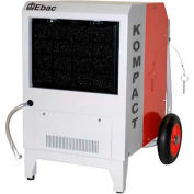 EBAC Compact Portable Dehumidifier W/ Folding Handle and Pump, Kompact, 7 Amps, 360 CFM, 56 Pints