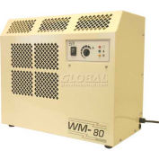 EBAC Wall Mounted Dehumidifier WM80, 8 Amps, 360 CFM, 62 Pints