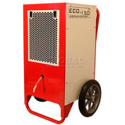 EBAC Professional Dehumidifier for Commercial/Residential W/ Pump ECO150, 7 Amps, 384 CFM, 80 Pints