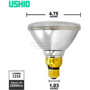 Ushio, 1003846, Eco Plus PAR Xenon Halogen Light Bulb, PAR38, 70 W, 120V