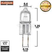 Platinum, 10T3Q, Halogen Light Bulb, T3, 10 Watt, 12 Volts