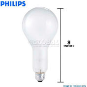 Philips, 143073, Standard Life Light Bulb, PS30, E26 Medium Screw, Frost, 300 Watt