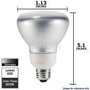 Philips, 150417, Dimmable Reflector Fluorescent Light Bulb, 16 Watt, 120 Volts, R30