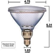 Osram Sylvania, 15558, Halogen Light Bulb, PAR38, 250 Watt, 120 Volts