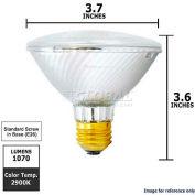 Osram Sylvania, 16128, Halogen Reflector Light Bulb, PAR30, 60 Watt, 120 Volts