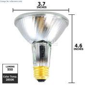 Osram Sylvania, 16153, Halogen Reflector Light Bulb, PAR30L, 39 Watt, 120 Volts