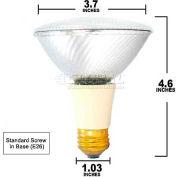 Osram Sylvania, 16156, Halogen Light Bulb, PAR30L, 39 Watt, 120 Volts