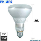 Philips, 167684, Halogen Light Bulb, BR30, 65 Watt, 120 Volts