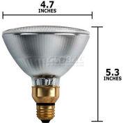 Philips, 238527, Halogen Light Bulb, PAR38, 83 Watt, 120 Volts, Clear