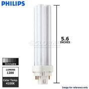 Philips, 383331, Fluorescent Light Bulb, 18 Watt, Double Tube 4-PIN, Cool White