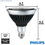 Philips, 414516, EnduraLED Light Bulb, PAR38, Dimmable, Warm White, 2700K, 17 Watt, 120 Volts