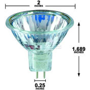 Osram Sylvania, 54660, Halogen Light Bulb, MR16, 150 Watt, 150 Volts