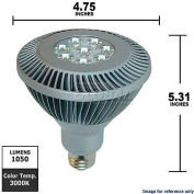 GE, 61928, LED Light Bulb, PAR38, Silver, 20 Watt