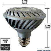 GE, 63026, Energy Smart Light Bulb, PAR30, Silver, 2700K, 10 Watt