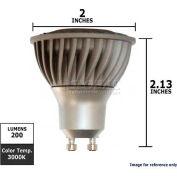 GE, 64887, LED Light Bulb, MR16, Silver, 3000K, 4.5 Watt, 120 Volts