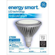 GE, 65423, LED Light Bulb, PAR38, Silver, 2700K, 17 Watt, 120 Volts