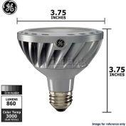 GE, 67922, LED Lamp, PAR30, Dimmable, Soft White, Silver, 12 Watt