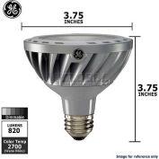 GE, 67925, Energy Smart Lamp, PAR30, Dimmable, Warm White, Silver, 12 Watt