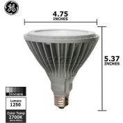 GE, 68152, Energy Smart Light Bulb, PAR38, 2700K, 18 Watt, 120 Volts