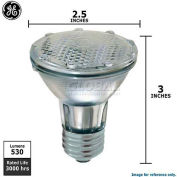 GE 69148 Halogen Light Bulb, PAR20, 38 Watt, 120 Volts