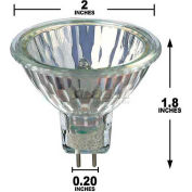 Philips, 885708, Light Bulb, MR16, 50 Watt, 12 Volts