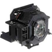 Epson, EMP-410W Projector Assembly W/UHE Osram Projector Bulb, 170 Watt