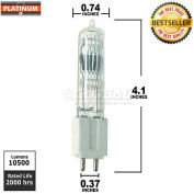 Platinum, GLA, Halogen Bulb, T6, 575 Watt, 155 Volts