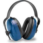 Elvex® ValueMuff™ Earmuff HB-25, Dielectric, NRR 25, Blue/Black