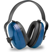 Elvex® ValueMuff™ Earmuff, Dielectric, NRR 25, Blue/Black, 1 Pair