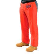 """Elvex® ProChaps™ Chainsaw Chaps JE-9033, 33""""L, Apron Style, Orange"""