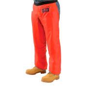 """Elvex® ProChaps™ Chainsaw Chaps JE-9039, 39""""L, Apron Style, Orange"""
