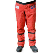 "Elvex® ProChaps™ Chain Saw Chaps JE-9136, 36""L, Wrap-Around Calf Protection, Orange"