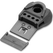 Elvex® QuickSnap™ Universal Slot Adaptor, Fits 29mm to 33mm Slotted Safety Caps, Black