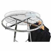 Grid Basket Rack Topper - Chrome