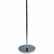 """Round Weighted Base w/ 5/8""""dia Upright"""